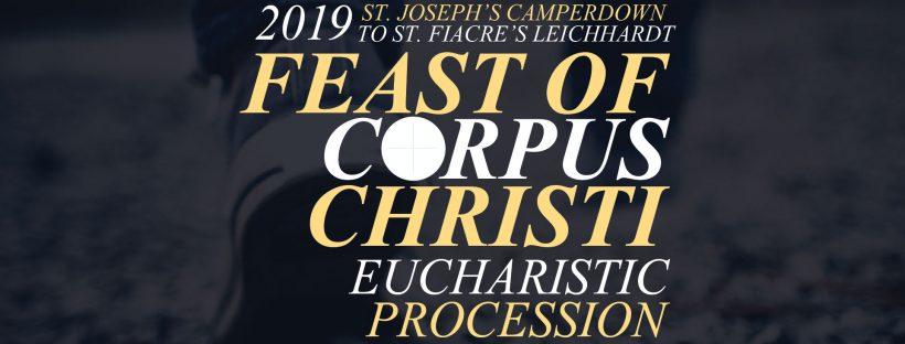 Corpus Christi Procession 2019