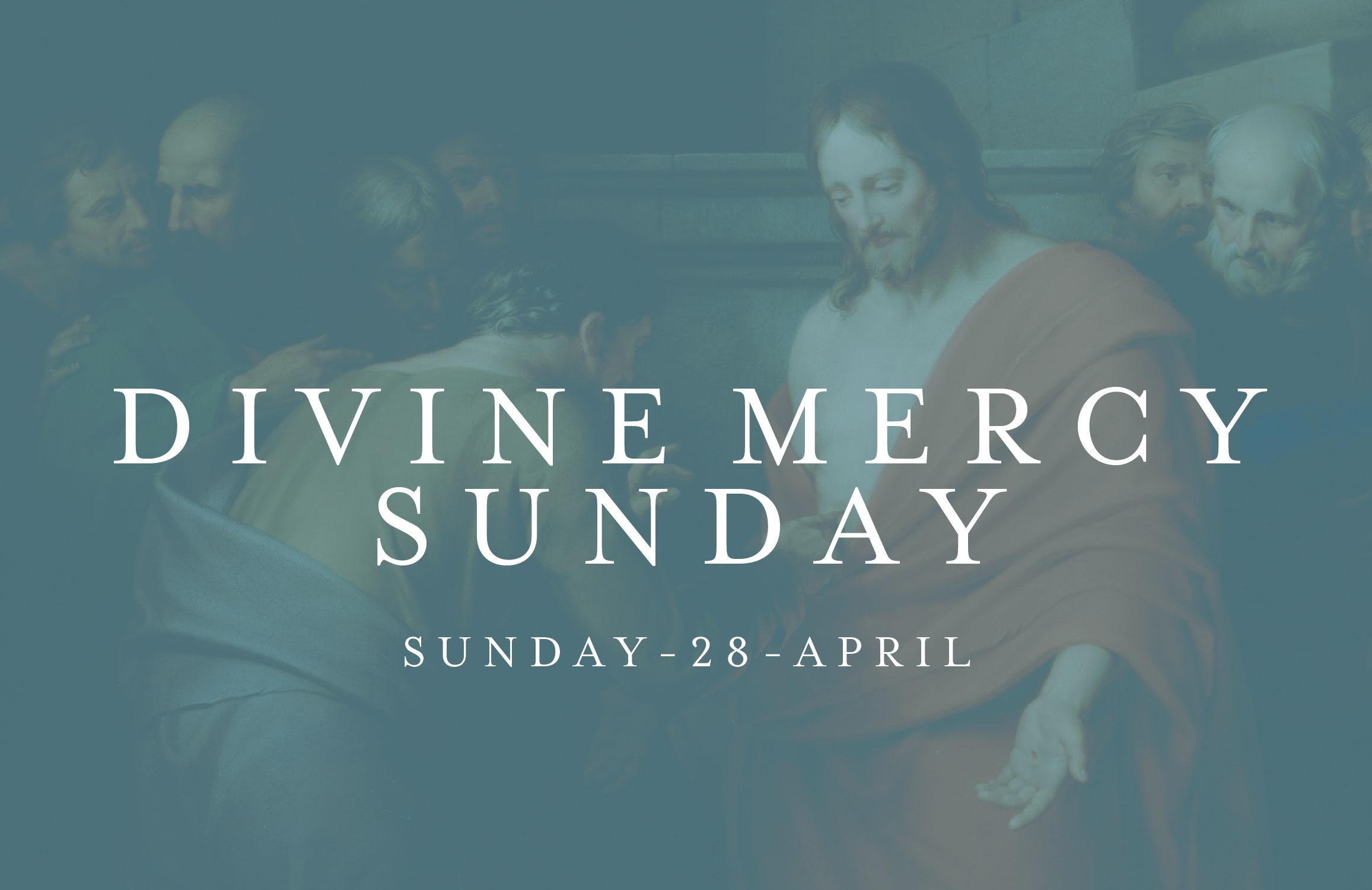 Divine Mercy Sunday